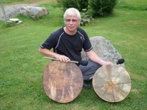 Kalle med trommer